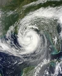 hurrican satelitte image