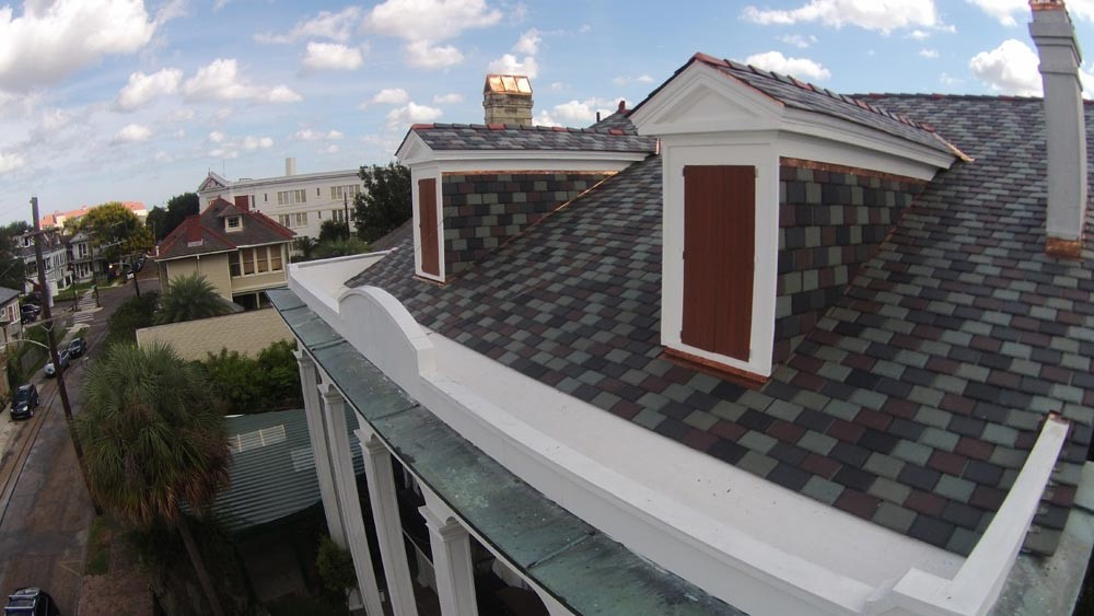 New Orleans roof